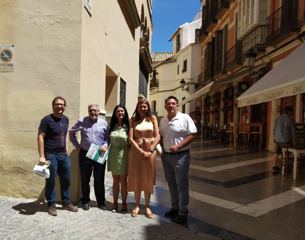 Reunión con los representantes de Málaga Ahora