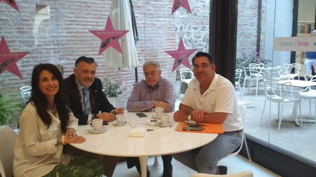 Reunión con los representantes de Vox Málaga